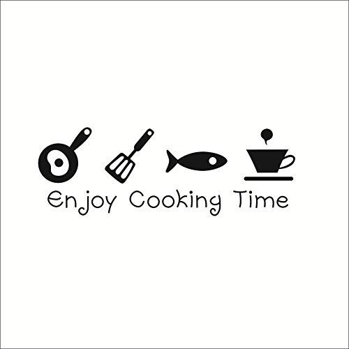 MING Umweltfreundliche PVC Abnehmbare feuchtigkeitsfest Wand Aufkleber Aufkleber für Esszimmer Küche Cookhouse Cuisine servery Pantry Dekoration