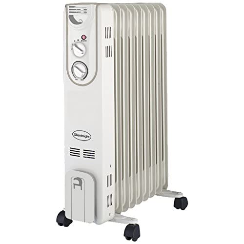 41fkKbcAGiL. SS500  - Silentnight 38150 Oil Radiator, 2000 W