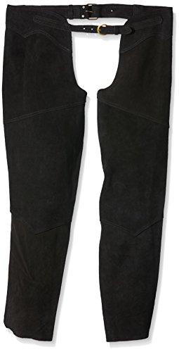Pfiff - Polainas unisex (cuero) negro negro Talla:xx-large