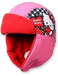 Hello kitty Bonnet - Chapka enfant fille Rose de 3 à 9ans fa9e22f55c6