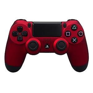 eXtremeRate PS4 Controller Hülle Gehäuse Obere Case Schutzhülle Cover Oberschale Skin Soft Touch Shell für Playstation 4 PS4 Controller JDM-011,JDM-001,JDM-020