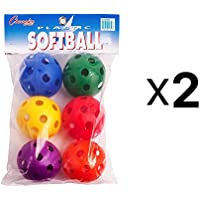 Champion Plastic Softball Baseball Balls For Batting Practice Set Of 6 (2-Pack) preisvergleich bei billige-tabletten.eu