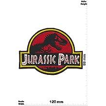 Parches - Jurassic Park - Hq - Big - Movie - Iron on Patch -Parche