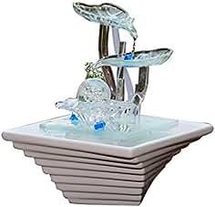 LIJUN Sala de Estar Agua humidificador Oficina Fuente decoración hogar decoración artesanía Regalos