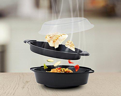 Foto de KIT DE VAPOR diseñado para cocinar con el Robot Multifunción NEWCOOK.