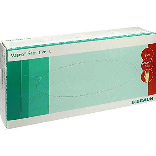 Vasco Sensitive Untersuchungshandschuhe Gr.L, 100 St
