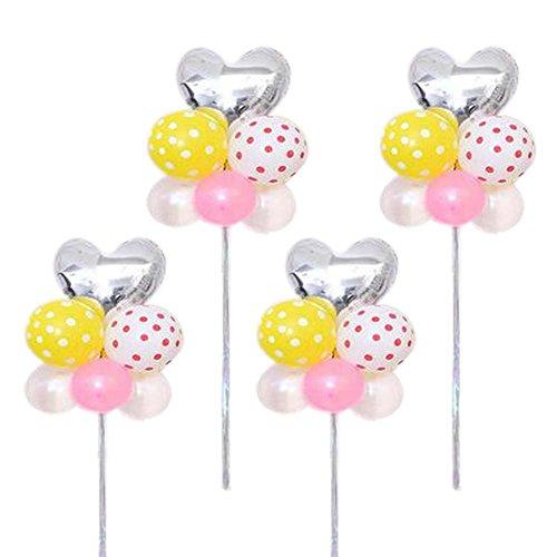 et 4 Ballons Geburtstag Arrangieren in Gruppen Latex Party Hochzeit (Partei-versorgung-großhandel)