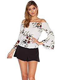 Gilet femme Ularmo Femmes Mode irrégulière Bretelles en mousseline de soie Tops T-shirt