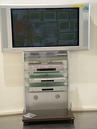 Tandem wenghè. Wagen/Ständer-Decoder, DVD, Player, eccet. anzubringen Wand unter dem TV mit Rollen