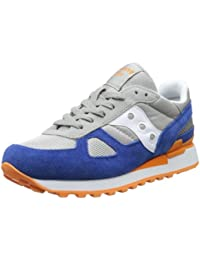 Saucony S2108-SHADOW-ORIGINAL Scarpe Uomo 541-grey-navy-orange 7