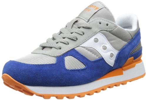 Saucony Originals Shadow Herren Sneakers Grey / Navy / Orange