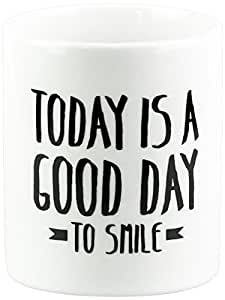 """Mr.Wonderful-Tazza """"Today is a day to good smile"""""""