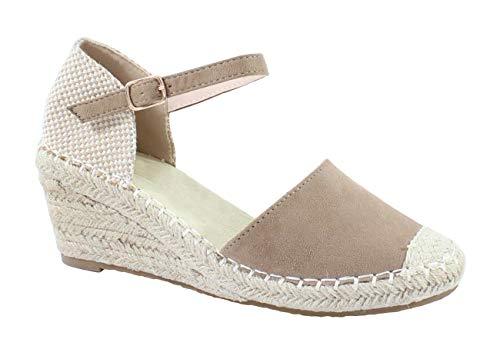 By Shoes - Espadrille à Plateforme en Corde de Chanvre - Femm