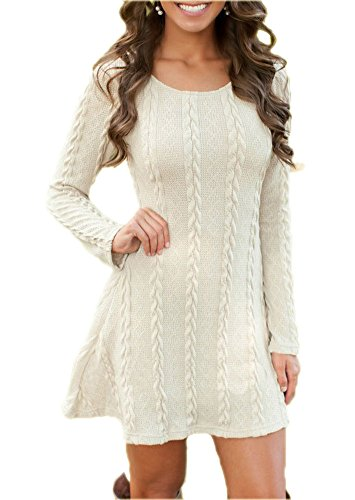 LifeWheel Spring Autumn Knitwear Tops Thin Sweater Dress Jumper Pullover Sweaters
