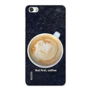 Neo World Cappuccino Coffee Back Case Cover for Huawei Honor 6 | Huawei Honor 6 Cases and Covers | Huawei Honor 6 Back Case | Huawei Honor 6 Back Cover | Premium Quality Matte Finish