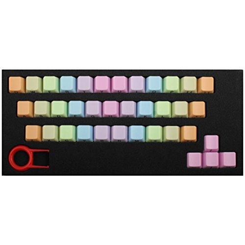 DealMux ABS 37 tasto CAPS Rosa w keycap Estrattore Rainbow tastiera meccanica PC desktop