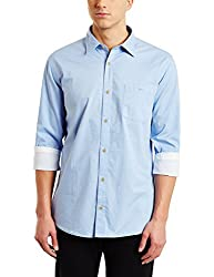 blackberrys Mens Casual Shirt (8907196237376_BTSNP1-SOFZ20_44_Light Blue)