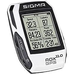 Sigma Sport 01009 Ciclocomputador, Unisex Adulto, Blanco, Talla Única