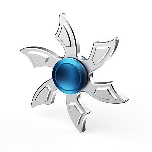 Hand Fidget Spinner,Omiky® EDC Hexa Shuriken Fidget Spinner