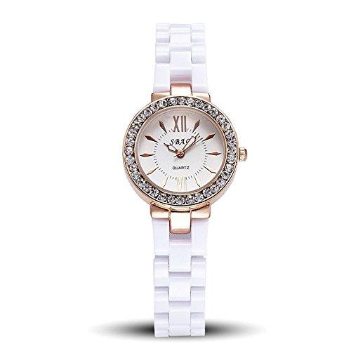 La donna, orologio al quarzo, affari, moda, anti ceramica, M0209
