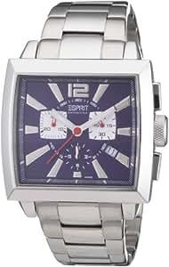 Esprit Herren-Armbanduhr Chronograph Leder