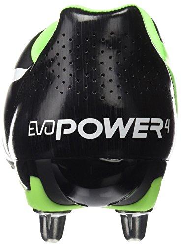 Puma Evopower 4.2 H8, Scarpe da Rugby Uomo Nero (Puma Black-puma White-green Gecko 07)