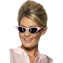 Gafas de sol retro de los años 50-60 accesorios lentes disfraz hippie