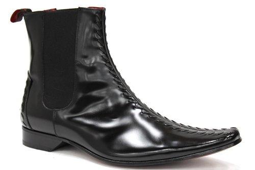 Jeffery West , bottes chelsea homme Noir - noir
