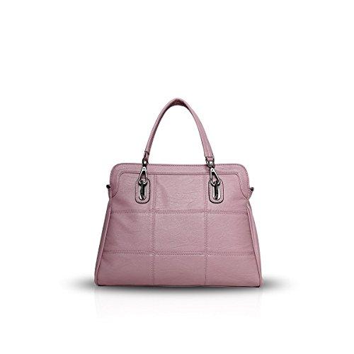 Bilis, Borsa a mano donna, Gray (grigio) - Bilis-612 Pink