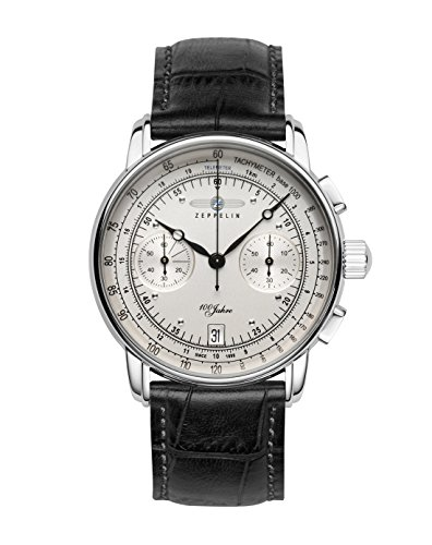 Mens Zeppelin 100 Jahre Chronograph Watch 7670-1
