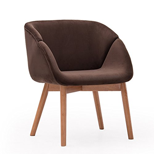 Chaise de salon en bois Chaise de bureau simple Chaise d'étude confortable Chaise de café de loisirs ( Couleur : 7# )