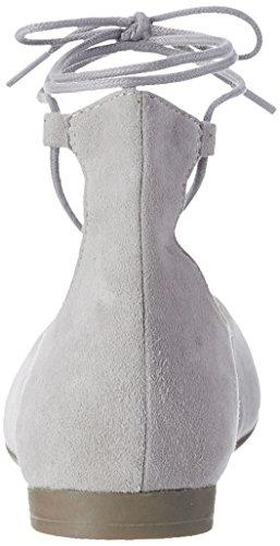 Tamaris 24200, Ballerines Femme Gris (LT. GREY SUEDE 231)