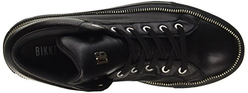 Bikkembergs Doll-Er Db 800 Mid Shoe W Leather, Baskets Hautes Femme Noir - noir