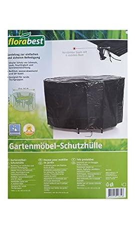 Gartentisch Abdeckhaube Schutzhülle Hülle Tisch & Stühle 165 x 82 cm