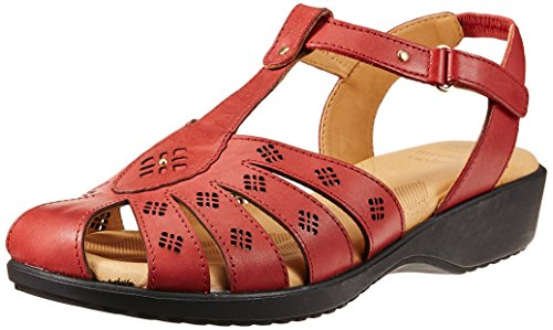 Dr. Scholls Women's Paris Closed Sandal Red Fashion Sandals - 5 UK/India (38 EU) (6645935)  available at amazon for Rs.1299