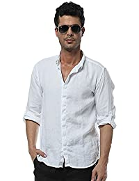 Insun Herren Hemd Kragen Mode Einfarbig Freizeithemd Longsleeve Shirts Bluse