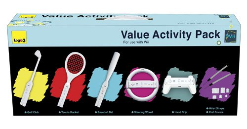 Price comparison product image Logic3 Value Activity Pack (Wii)
