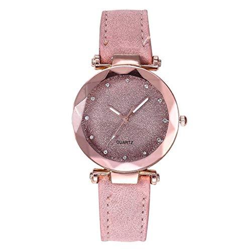 Uhren Damen Armbanduhr Mode Analog Quartz Uhr Frauen Rhinestone Watch Bracelet Watch Casual Luxus Uhrenarmband Exquisit uhr ABsoar (Nixon-skelett-uhr)