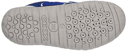 Geox J Trifon B, Sneakers Basses Garçon Bleu (Royal/Whitec0432)