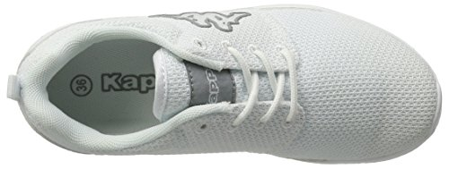 Kappa Speed Ii, Sneakers Basses Mixte Adulte Blanc (White/l'grey)