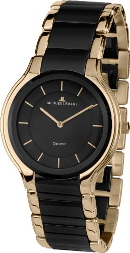 Jacques Lemans Dublin 1-1582C Ladies Ceramic Bracelet Watch