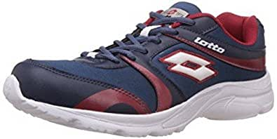 LOTTO MEN Pacer Navy/Red RUNNING Shoes 7 UK/India