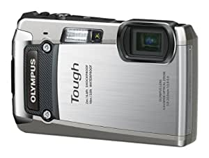 Olympus TG-820 Rugged Digital Compact Camera - Silver (12MP, 5x Wide Optical Zoom) 3.0 inch LCD