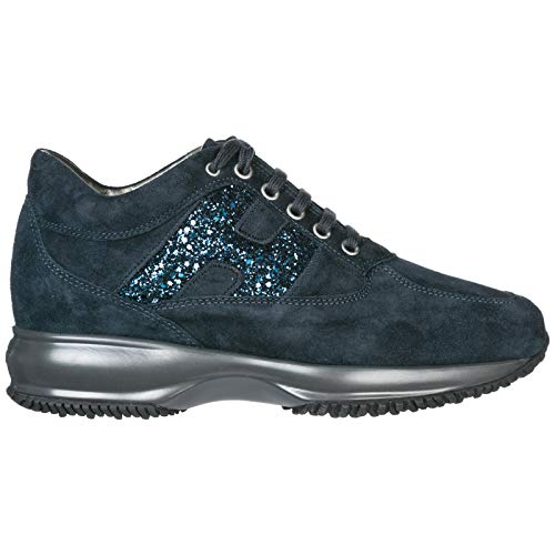 .Hogan Sneakers Interactive Donna Blu Denim 37 EU