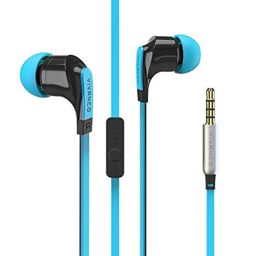 Vivanco in-Ear Auriculares estéreo con Plano