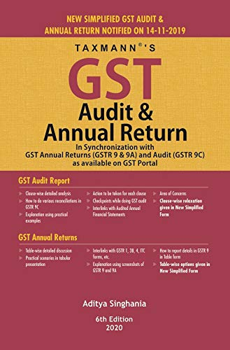 GST Audit & Annual Return  (6th edition 2020)