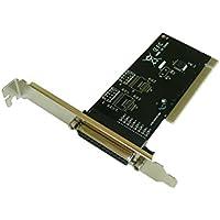 Kalea Informatique–Tarjeta controlador PCI/1Port Parallele IEEE1284LPT/Version económica con Chipset WCH CH3510–Compatible con Windows 98SE, ME, 2000, XP, NT4.0, vista, Seven, 8, 8.1, 10