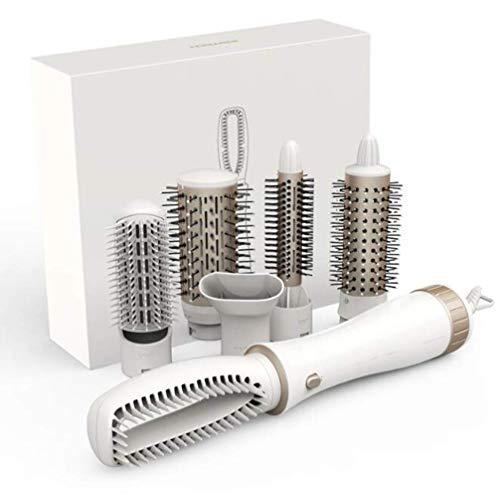 rtrockner, 6 in 1 Multifunktionsbirnenkopf mit geradem Haar und kleinem Volumen können ihre eigenen DIY-Lockenwickler-Sets Sein ()