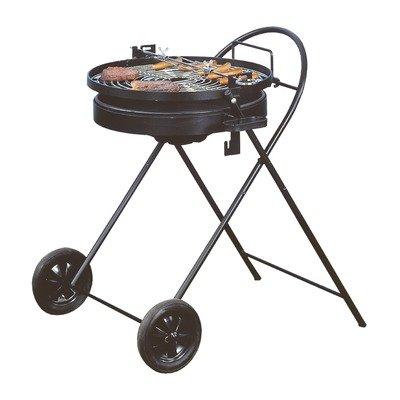 Heibi en acier inoxydable pour barbecue au charbon de bois pliable 43733
