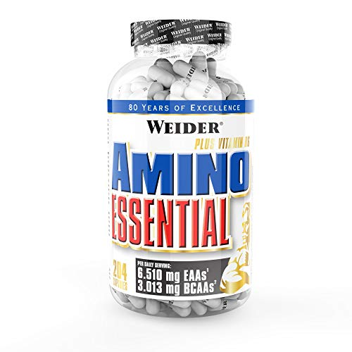 Weider, Amino Essential, 1er Pack (1x 204 Kapseln)